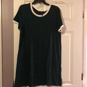 Dark green T Shirt dress